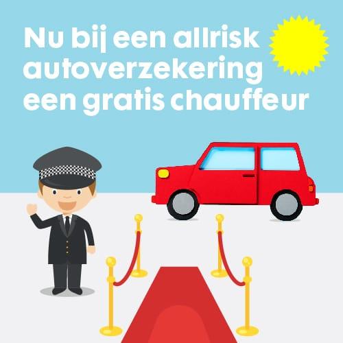Autoverzekering met gratis chauffeur
